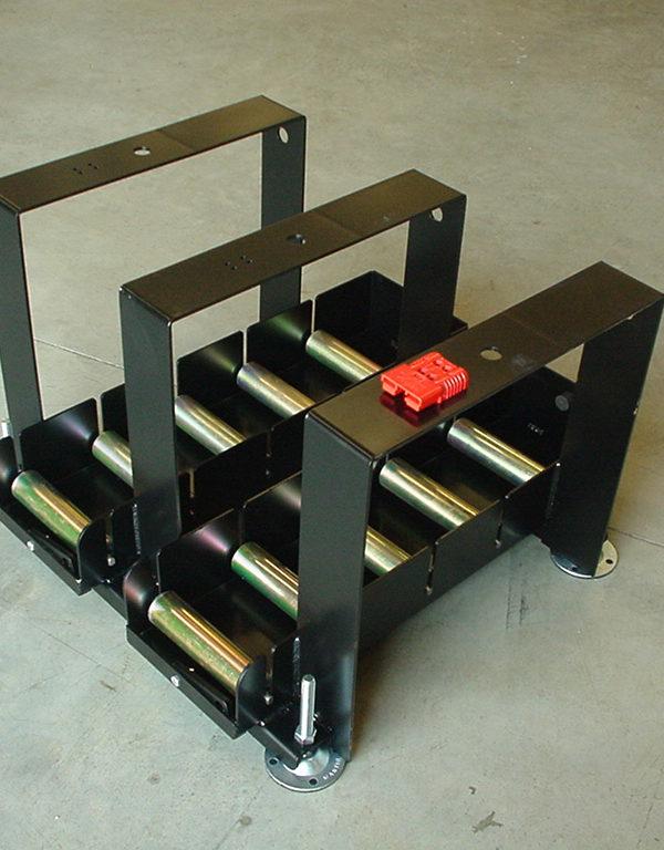 Mesas dobles con barandillas
