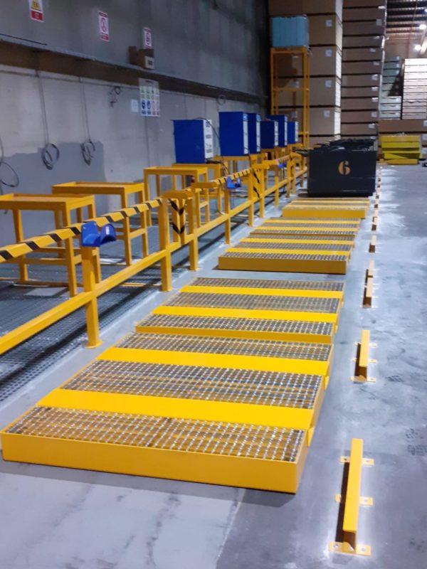 Diseño, fabricación, instalación y venta de Salas de Baterías